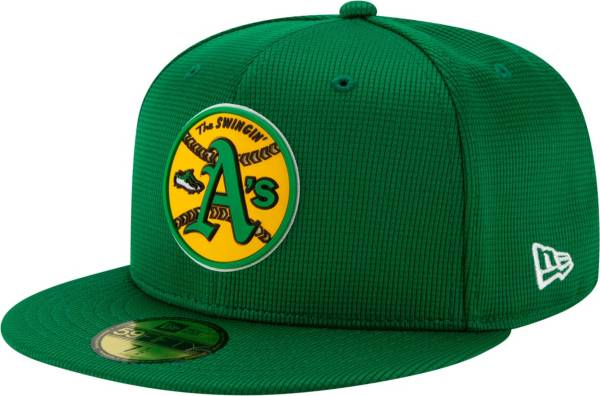 New Era Men's Oakland Athletics Green 59Fifty Clubhouse Fitted Hat product image