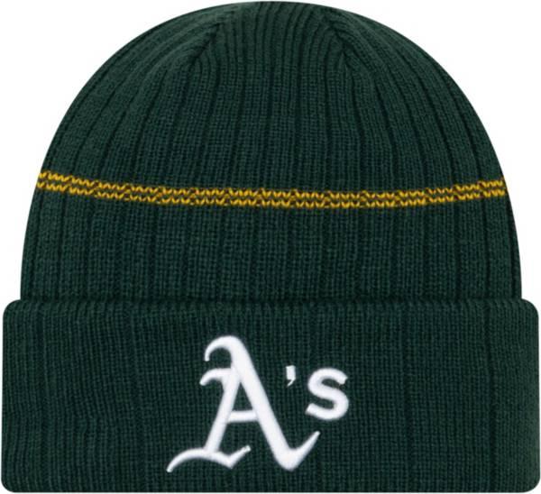 New Era Men's Oakland Athletics Green Sports Knit Hat product image