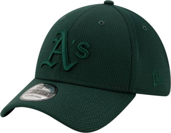 New Era Men's Oakland Athletics Green 39Thirty Perftone Stretch Fit Hat product image