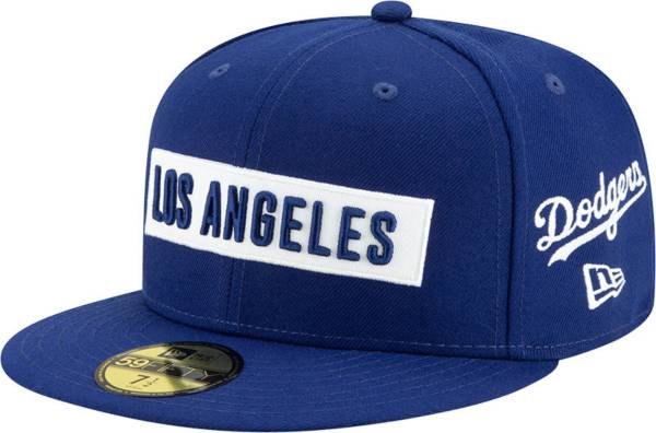 New Era Men's Los Angeles Dodgers Blue 59Fifty Fitted Hat product image