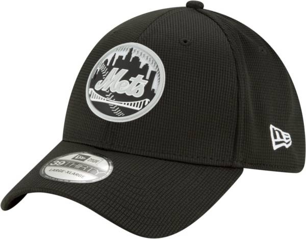 New Era Men's New York Mets BLack 39Thirty Clubhouse Stretch Fit Hat product image