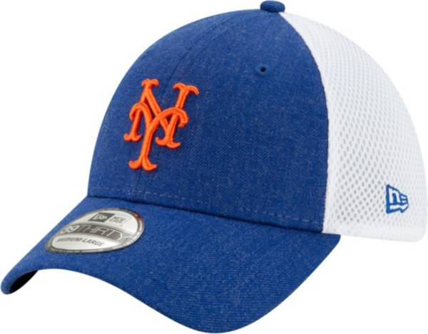 New Era Men's New York Mets Blue 39Thirty Heather Neo Stretch Fit Hat product image