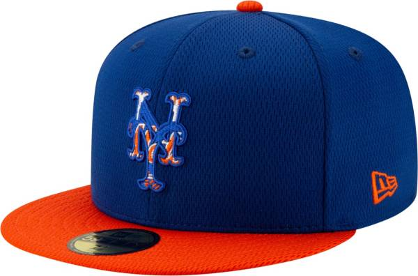 New Era Men's New York Mets 59Fifty Blue Batting Practice Fitted Hat product image