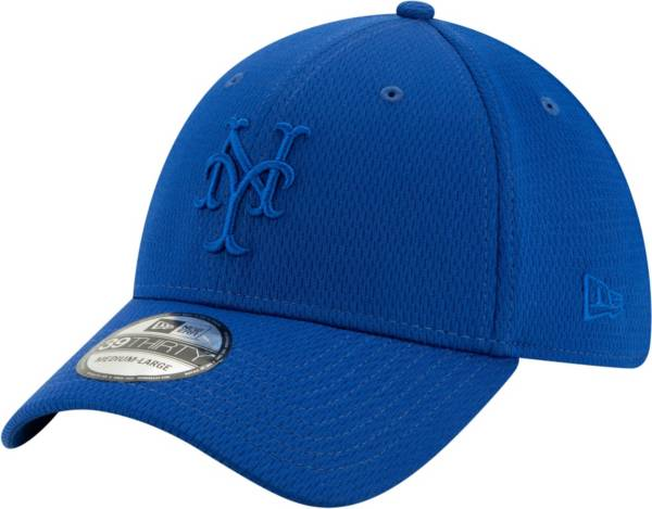 New Era Men's New York Mets Blue 39Thirty Perftone Stretch Fit Hat product image