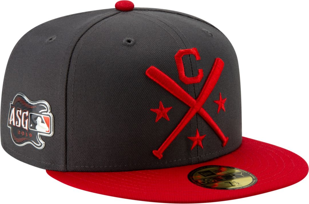 66722095 New Era Men's Cleveland Indians 59Fifty 2019 MLB All-Star Game Authentic Hat.  noImageFound. Previous