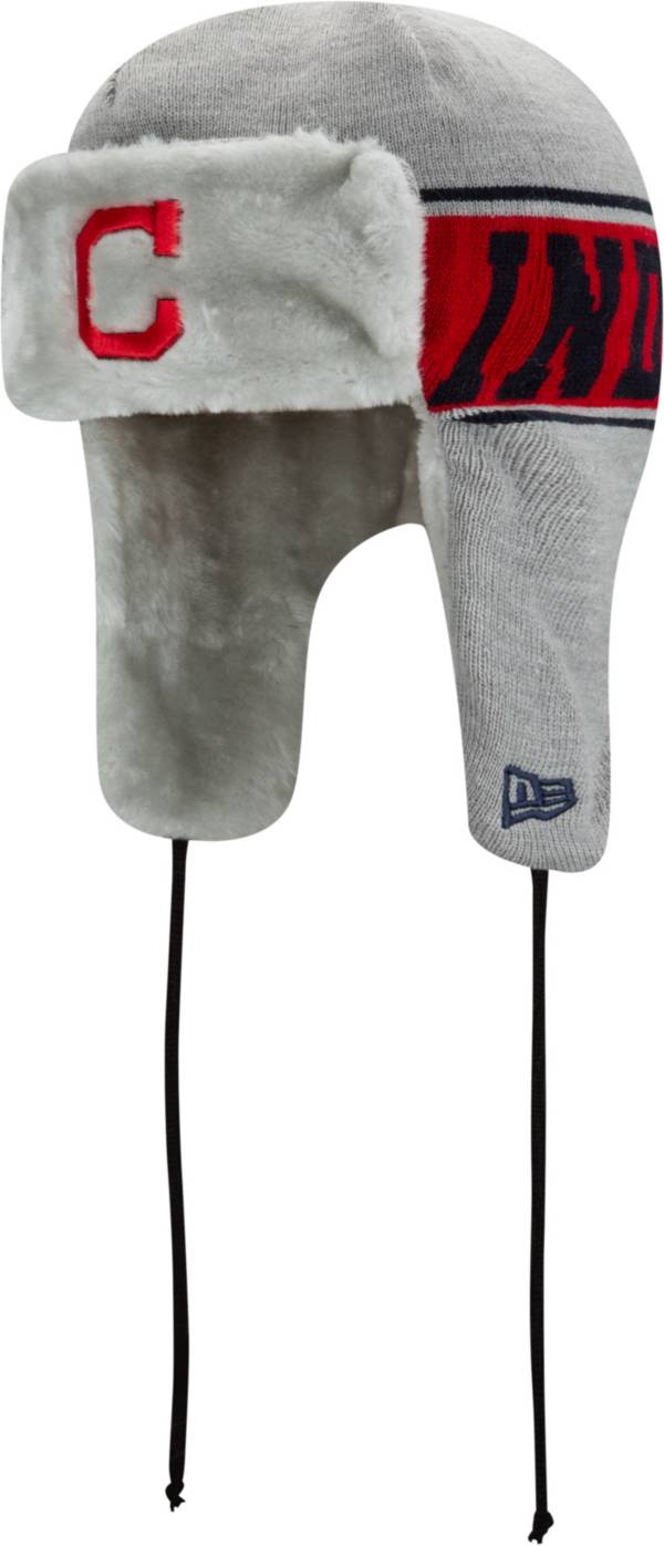 New Era Men's Cleveland Indians Trapper Knit Hat product image