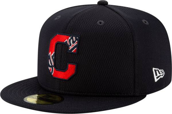 New Era Men's Cleveland Indians 59Fifty Navy Batting Practice Fitted Hat product image