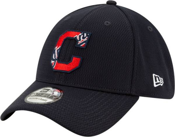 New Era Men's 2020 Spring Training Cleveland Indians Navy 39Thirty Stretch Fit Hat product image