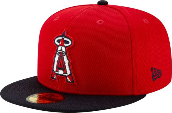 New Era Men's Los Angeles Angels 59Fifty Red Batting Practice Fitted Hat product image