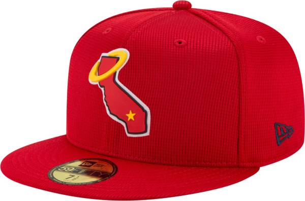 New Era Men's Los Angeles Angels Red 59Fifty Clubhouse Fitted Hat product image