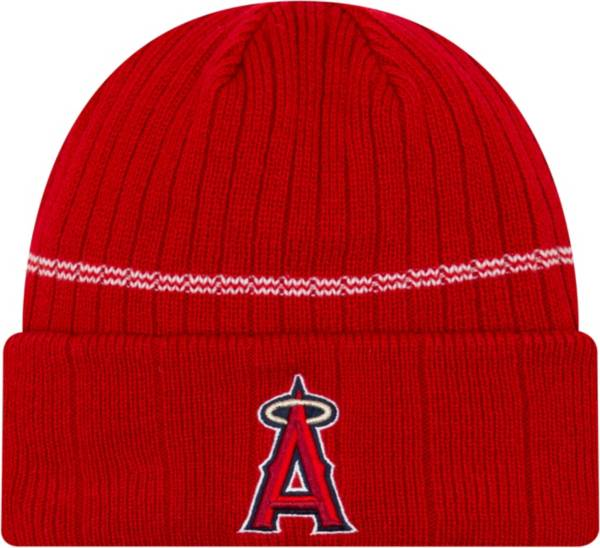 New Era Men's Los Angeles Angels Red Sports Knit Hat product image