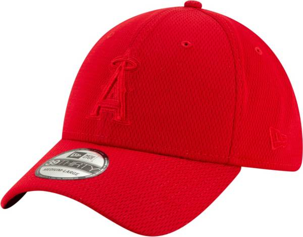 New Era Men's Los Angeles Angels Red 39Thirty Perftone Stretch Fit Hat product image