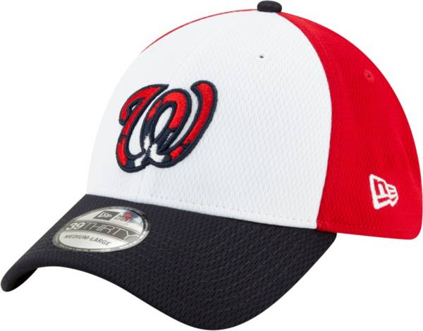 New Era Men's Washington Nationals 39Thirty Red Batting Practice Stretch Fit Hat product image