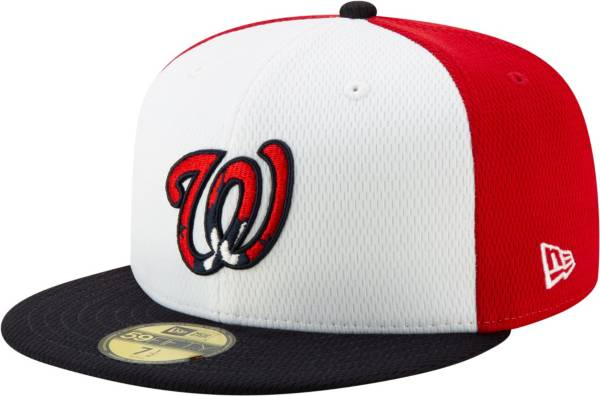 New Era Men's Washington Nationals 59Fifty Red Batting Practice Fitted Hat product image