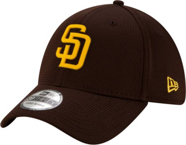 New Era Men's San Diego Padres Brown 39Thirty Clubhouse Stretch Fit Hat product image