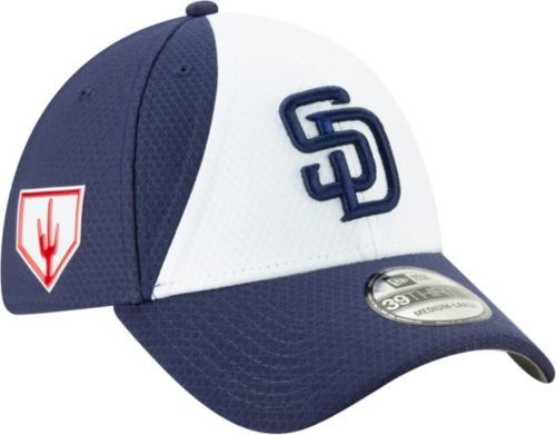 299816d6 New Era Men's San Diego Padres 39Thirty HexTech 2019 Spring Training  Stretch Fit Hat. noImageFound. Previous. 1. 2
