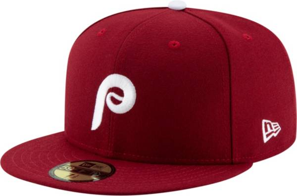 New Era Men's Philadelphia Phillies 59Fifty Alternate Maroon Authentic Hat product image