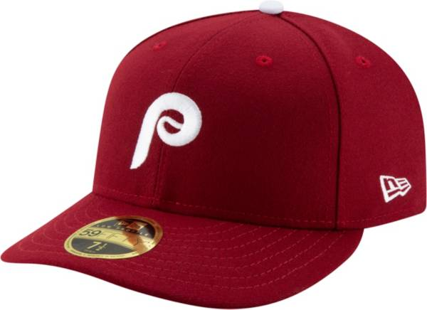New Era Men's Philadelphia Phillies 59Fifty Alternate Maroon Low Crown Fitted Hat product image