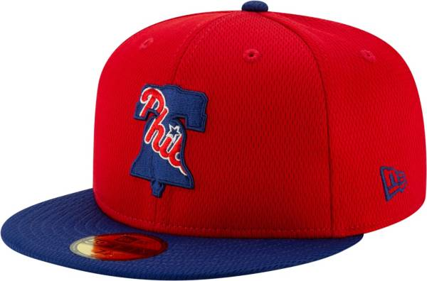 New Era Men's Philadelphia Phillies 59Fifty Red Batting Practice Fitted Hat product image