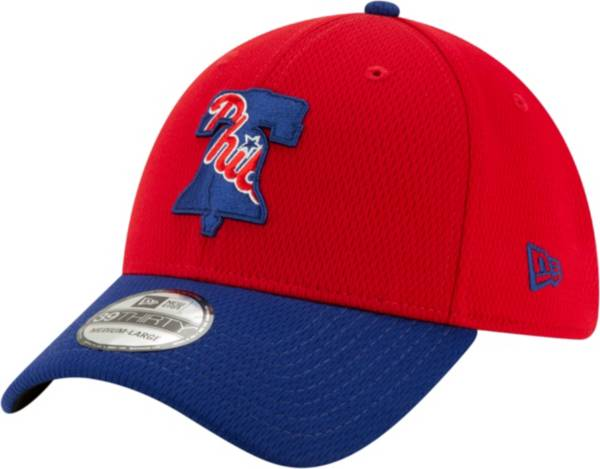 New Era Men's Philadelphia Phillies 39Thirty Red Batting Practice Stretch Fit Hat product image