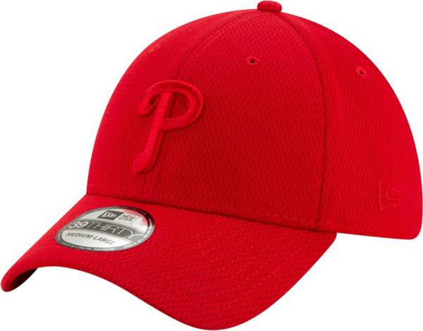New Era Men's Philadelphia Phillies Red 39Thirty Perftone Stretch Fit Hat product image