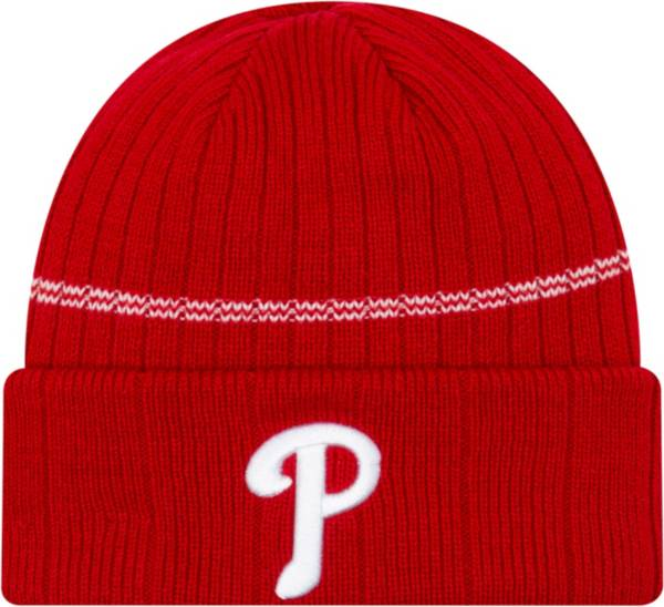 New Era Men's Philadelphia Phillies Red Sports Knit Hat product image