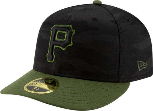 New Era Men's Pittsburgh Pirates 59Fifty Alternate Black Camo Low Crown Fitted Hat product image