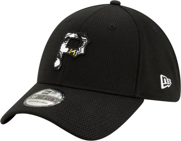 New Era Men's Pittsburgh Pirates 39Thirty Black Batting Practice Stretch Fit Hat product image