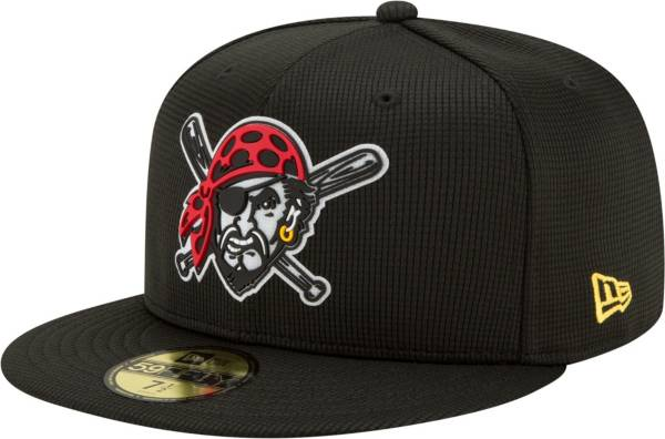New Era Men's Pittsburgh Pirates BLack 59Fifty Clubhouse Fitted Hat product image