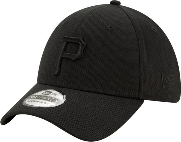 New Era Men's Pittsburgh Pirates Black 39Thirty Perftone Stretch Fit Hat product image