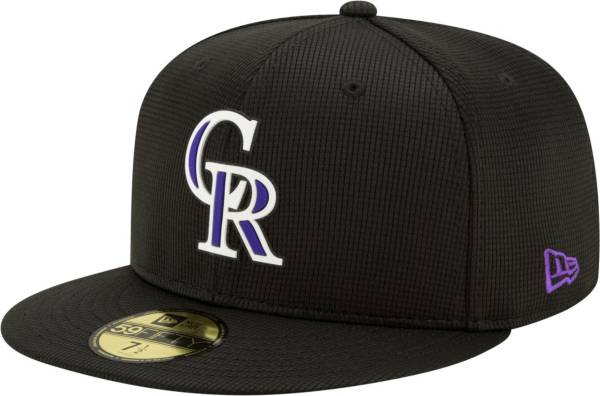 New Era Men's Colorado Rockies Black 59Fifty Clubhouse Fitted Hat product image
