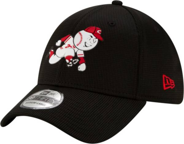 New Era Men's Cincinnati Reds Black 39Thirty Clubhouse Stretch Fit Hat product image