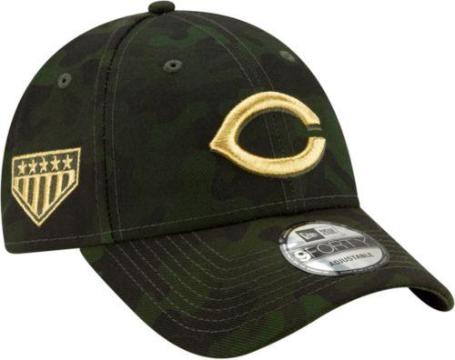 big sale 28165 ef9dc New Era Men s Cincinnati Reds 9Forty Armed Forces Adjustable Hat.  noImageFound. Previous