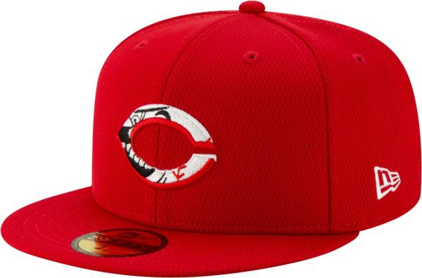 New Era Men's Cincinnati Reds 59Fifty Red Batting Practice Fitted Hat product image