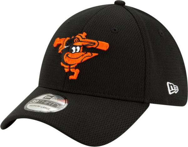 New Era Men's Baltimore Orioles 39Thirty Black Batting Practice Stretch Fit Hat product image