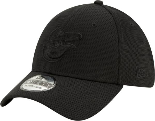 New Era Men's Baltimore Orioles Black 39Thirty Perftone Stretch Fit Hat product image