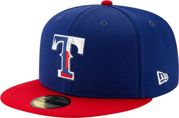New Era Men's Texas Rangers 59Fifty Blue Batting Practice Fitted Hat product image
