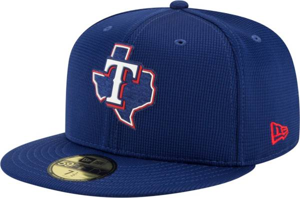 New Era Men's Texas Rangers Blue 59Fifty Clubhouse Fitted Hat product image