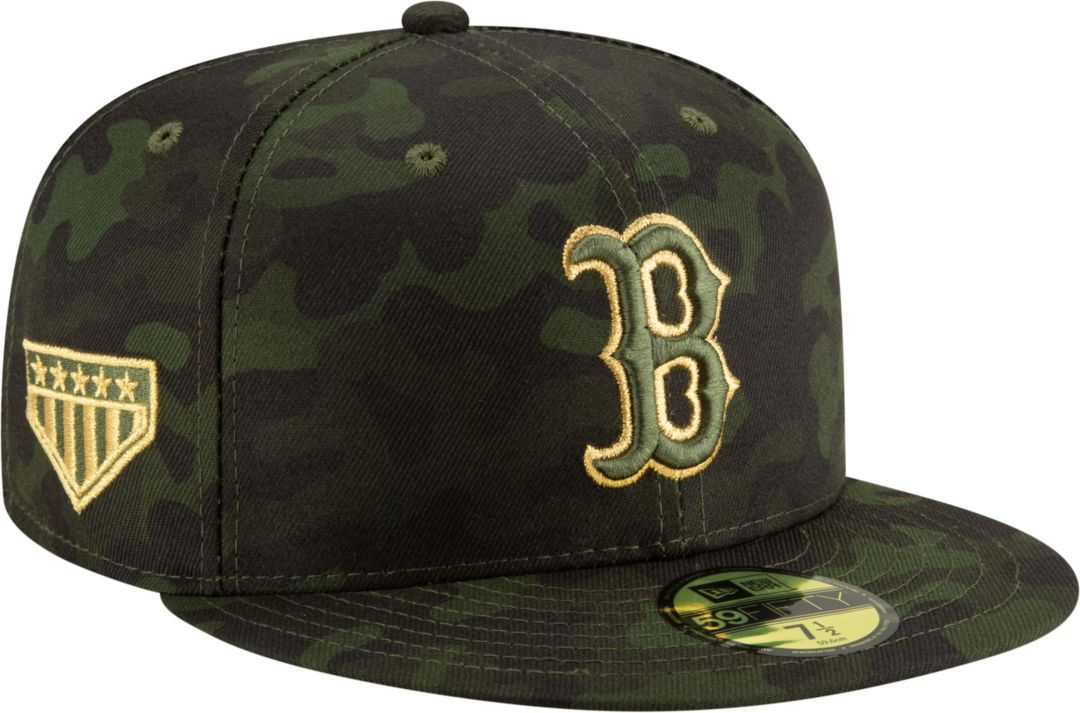 d78e367a130518 New Era Men's Boston Red Sox 59Fifty Armed Forces Fitted Hat. noImageFound.  Previous. 1