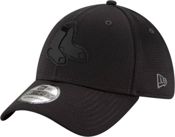 New Era Men's Boston Red Sox Gray 39Thirty Clubhouse Stretch Fit Hat product image
