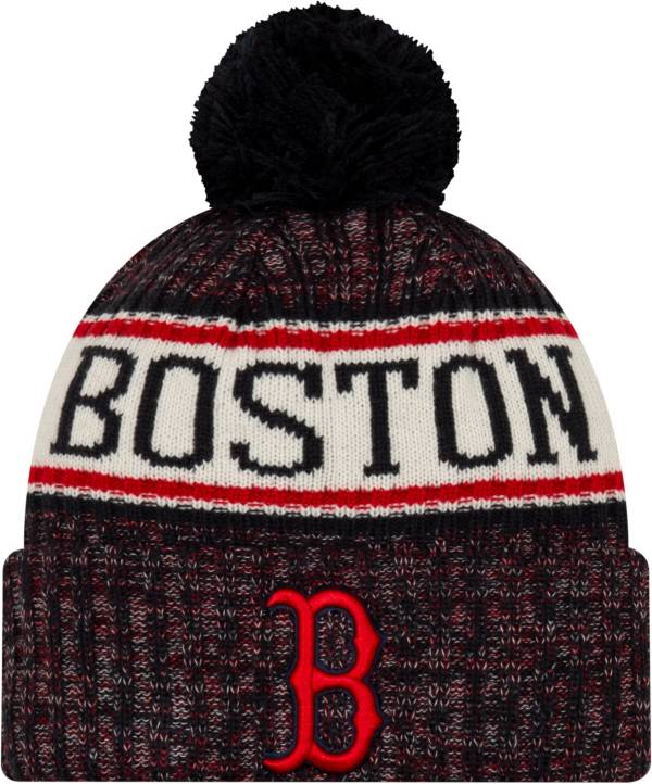 New Era Men's Boston Red Sox Sports Knit Hat product image