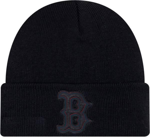 New Era Men's Boston Red Sox Vivid Knit Hat product image