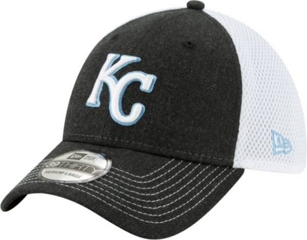 New Era Men's Kansas City Royals Black 39Thirty Heather Neo Stretch Fit Hat product image