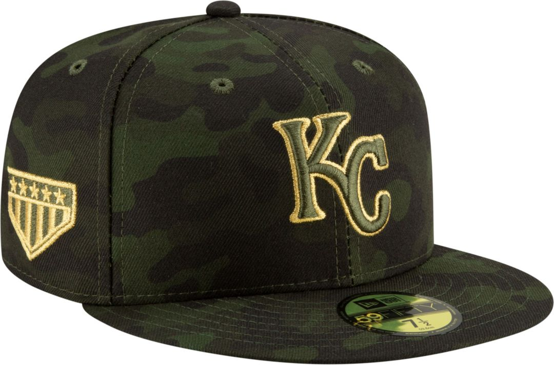 new style c7921 193ad New Era Men s Kansas City Royals 59Fifty Armed Forces Fitted Hat.  noImageFound. Previous. 1