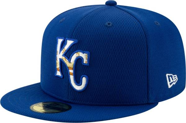 New Era Men's Kansas City Royals 59Fifty Royal Batting Practice Fitted Hat product image