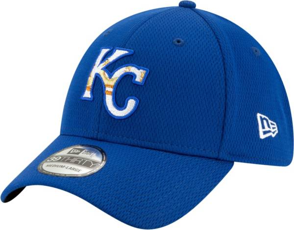New Era Men's Kansas City Royals 39Thirty Royal Batting Practice Stretch Fit Hat product image