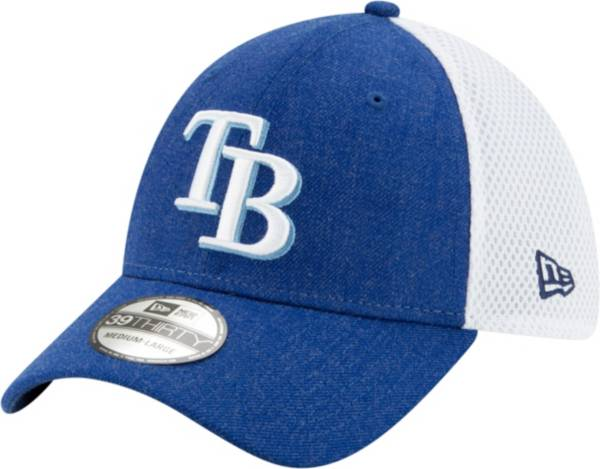 New Era Men's Tampa Bay Rays Blue 39Thirty Heather Neo Stretch Fit Hat product image