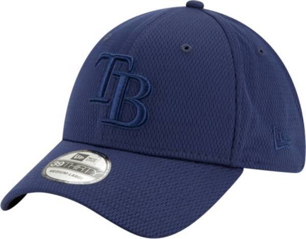 New Era Men's Tampa Bay Rays Navy 39Thirty Perftone Stretch Fit Hat product image