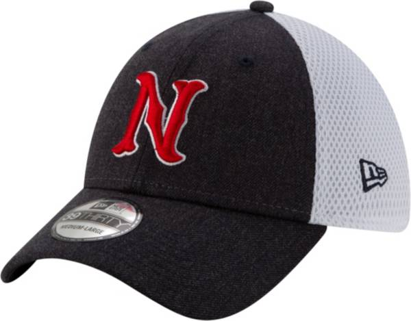 New Era Men's Nashville Sounds Dark Gray 39Thirty Heather Neo Stretch Fit Hat product image