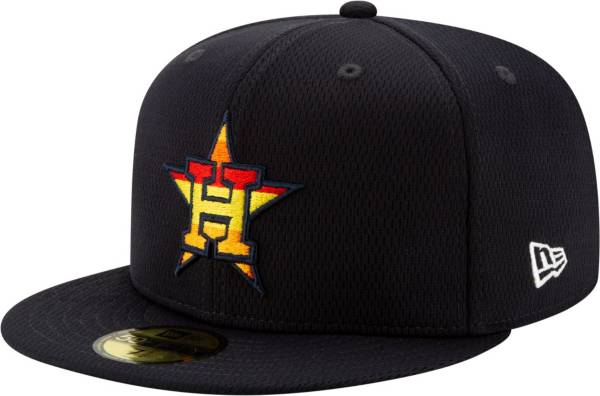 New Era Men's Houston Astros 59Fifty Navy Batting Practice Fitted Hat product image
